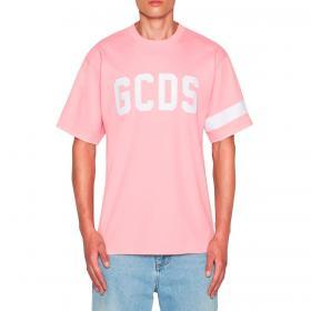 T-shirt GCDS con stampa logo sul petto da uomo rif. CC94M021004