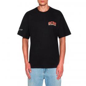 T-shirt GCDS Cherry Club con maxi stampa sulla schiena da uomo rif. SS21M020066