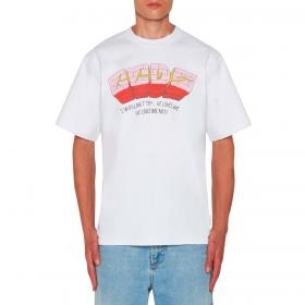T-shirt GCDS with Bad Flower print con maxi stampa sulla schiena da uomo rif. SS21M020068