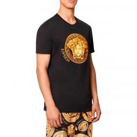 T-shirt Versace Medusa Amplified Ricamata da uomo rif. A88653 A228806