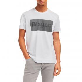 T-shirt Blauer USA con stampa lenticolare da uomo rif. 21SBLUH02133-004547