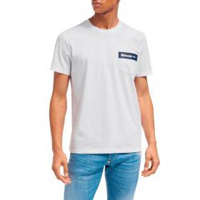 T-shirt Blauer USA con taschino e stampa da uomo rif. 21SBLUH02136-004547