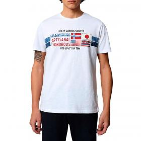 T-shirt Napapijri Silea SS con stampe a manica corta da uomo rif. NP0A4F6J