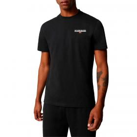 T-shirt Napapijri S-Ice C con stampa logo da uomo rif. NP0A4F6V