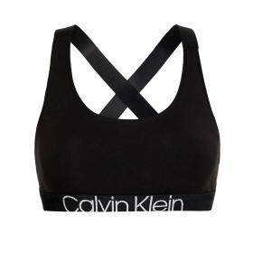 Bralette reggiseno Calvin Klein Underwear con logo da donna rif. QF6576E-UB1