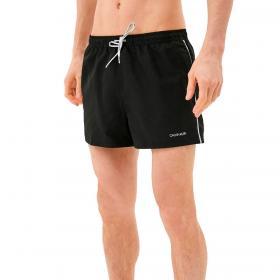 Costume Calvin Klein Swimwear Logo Ties corti modello runner da uomo rif. KM0KM00567