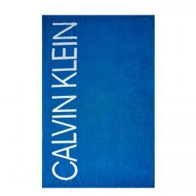Telo mare Calvin Klein Swimwear Core Solids con stampa rif. KU0KU00077
