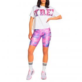 Completo corto Pyrex con stampa tie dye ciclista in tuta da donna rif. 21EPB42251