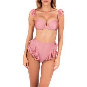 Costume bikini Ardoel coppa fissa con volant da donna rif. DIANA
