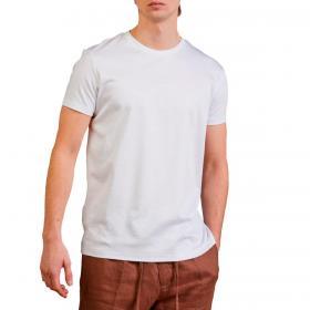 T-shirt Outfit slim fit in cotone mercerizzata da uomo rif. OF1CT00T007