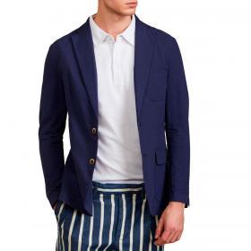 Giacca camicia Outfit in cotone seersucker da uomo rif. OF1S2S1G010