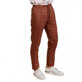 Pantaloni pantalaccio Outfit in lino da uomo rif. OF1S2S1P029