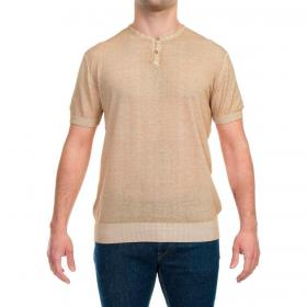 T-shirt Outfit Serafina con colletto con bottoni da uomo rif. OF1S2S1M025
