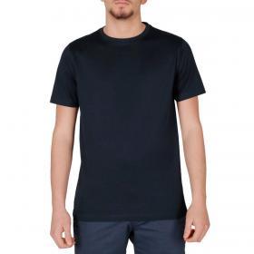 T-shirt Over-d girocollo mezza manica in tinta unita da uomo rif. OM625TS