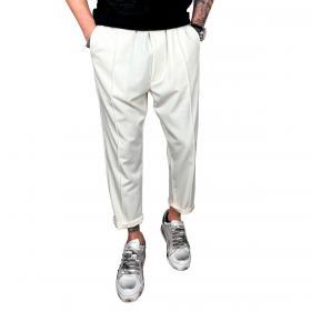 Pantaloni Over-D con coulisse modello capri da uomo rif. OM643PN