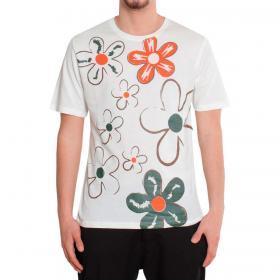 T-shirt Over-d girocollo con stampa da uomo rif. OM674TS
