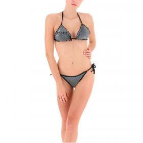 Costume bikini Pyrex in lurex con stampa da donna rif. PY020098