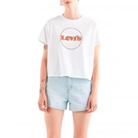 T-shirt Levi's Varsity Graphic Tee con stampa da donna rif. 69973-0153