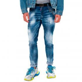 Jeans Dsquared2 Cool Guy Jean con vernice da uomo rif. S74LB0930 S30342