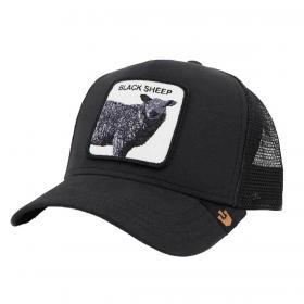 Cappello Goorin Bros Black Sheep con visiera e patch unisex rif. 101-0221
