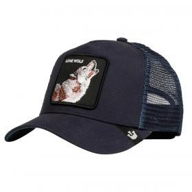 Cappello Goorin Bros Lone Wolf con visiera e patch unisex rif. 101-6099