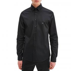 Camicia Calvin Klein in cotone biologico extra slim da uomo rif. K10K107346