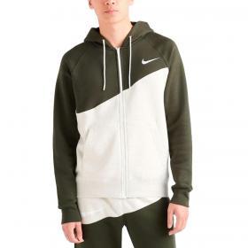 Felpa Nike Sportswear con swoosh sul retro da uomo rif. BV5237