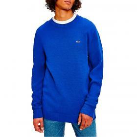 Pullover Tommy Jeans Essential in cotone biologico da uomo rif. DM0DM11856