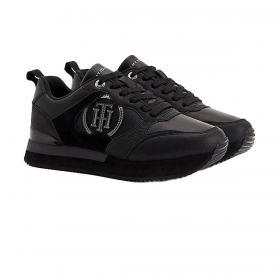 Scarpe Sneakers Tommy Hilfiger con suola antiscivolo e monogramma da donna rif. FW0FW05928