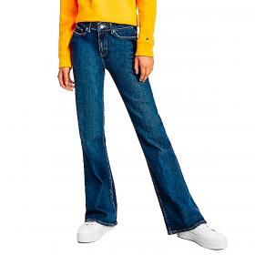 Jeans Tommy Hilfiger a campana e vita media da donna rif. WW0WW31799