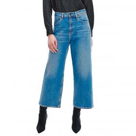 Jeans in denim Calvin Klein scampanato corto da donna rif. K20K203375