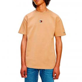 T-shirt Tommy Jeans con logo circolare da uomo rif. DM0DM11602