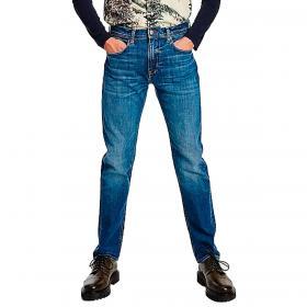 Jeans Tommy Hilfiger Bleecker TH Flex slim fit stile vintage da uomo rif. MW0MW19902