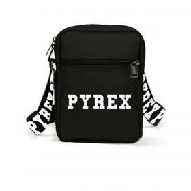 Mini tracolla Pyrex con logo in nylon unisex rif. PY80112