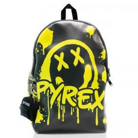 Zaino Pyrex in ecopelle con maxi stampa smile unisex rif. PY80156