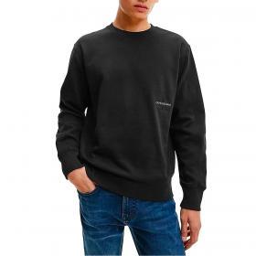 Felpa Calvin Klein Jeans in cotone biologico con logo da uomo rif. J30J318176