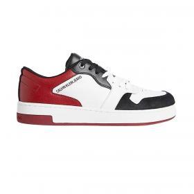 Scarpe Sneakers Calvin Klein Jeans in pelle e camoscio da uomo rif. YM0YM00286