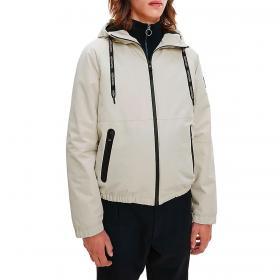 Giacca Calvin Klein con cappuccio in tela tecnica rif. K10K106699