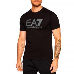 T-shirt Emporio Armani EA7 Visibility Logo in cotone da uomo rif. 6KPT81 PJM9Z