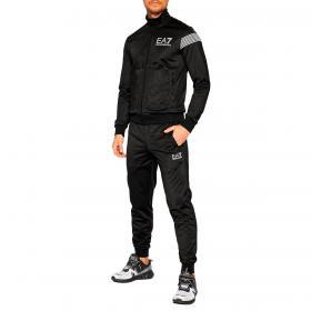 Tuta Emporio Armani EA7 7 Lines in jersey di cotone da uomo rif. 6KPV59 PJ08Z