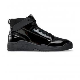 Scarpe Sneakers Emporio Armani EA7 New Basket da uomo rif. X8Z032 XK235