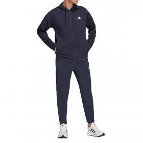 Tuta sportiva Adidas Sportswear Ribbed Insert con logo da uomo rif. H42015