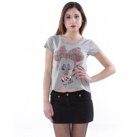 """T-Shirt """"Mouse My Heart"""" - donna"""
