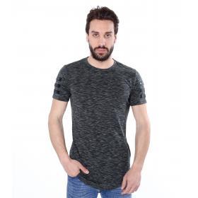 T-shirt casual maniche corte trama Jersey - uomo
