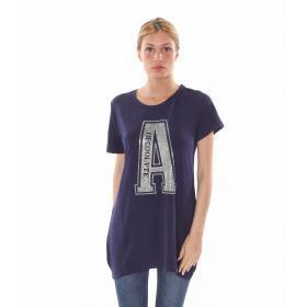 "T-Shirt lunga ""LetterA"" - donna"