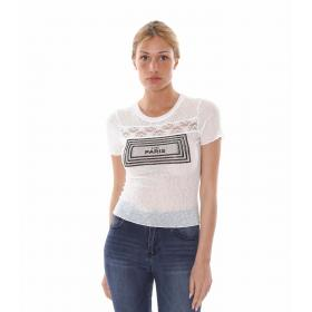 "T-Shirt ""Square Paris"" - donna"