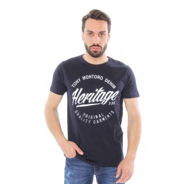 T-Shirt con stampa in cotone Tony Montoro - Uomo