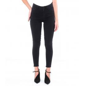 Pantaloni da Donna 5 tasche in cotone elasticizzato slim fit