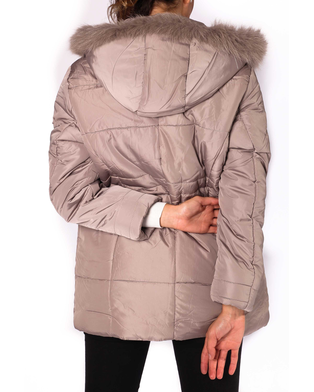 Cappotto da donna con cappuccio