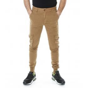 Pantalone cargo uomo 5 tasche